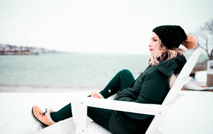 Person Overlooking Ocean - CBD for Anxiety