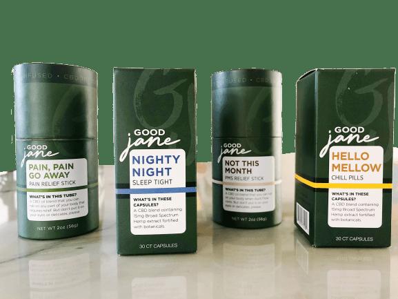Good Jane - CBD Products