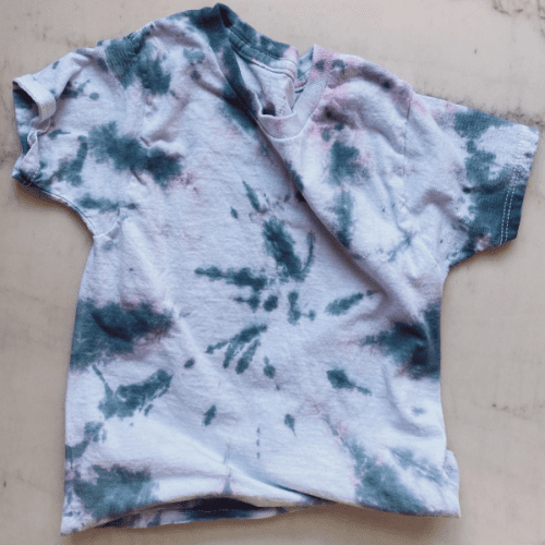 kids tye die t-shirt