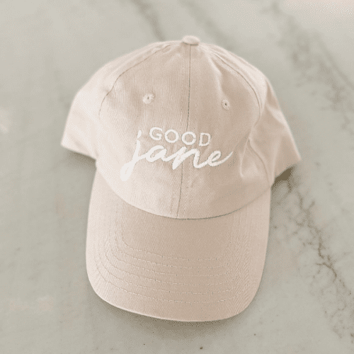 Good Jane Apparel- Ivory Good jane Hat