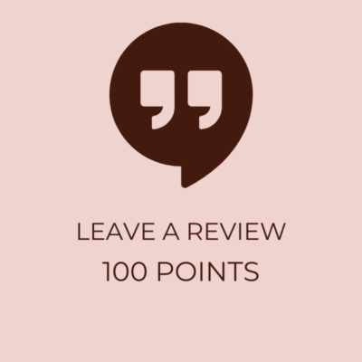 Leave a Review 100 Points- Icon