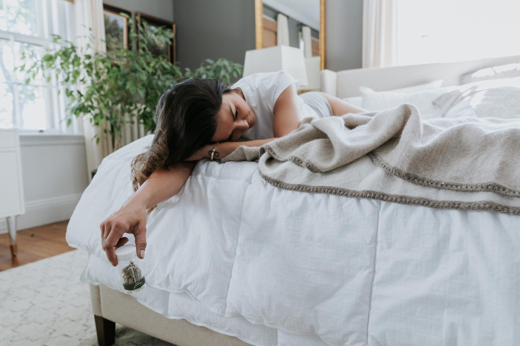 Girl Sleeping Nighty Night Good Jane